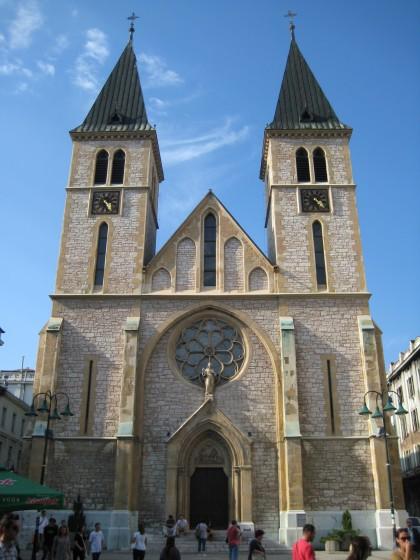 Jesus' Heart Cathedral in Sarajevo