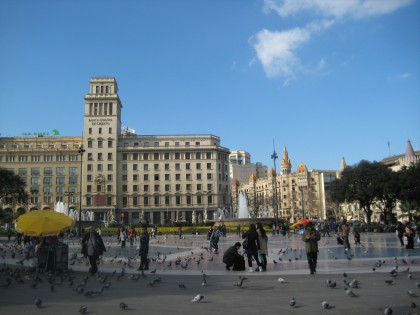Plaza Catalunya, Barcelona