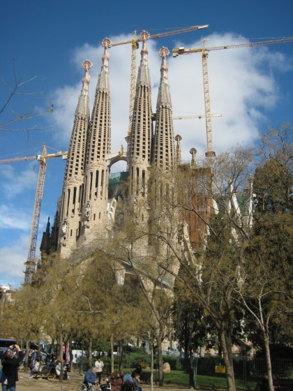 La Sagrada Familia, Barcelona