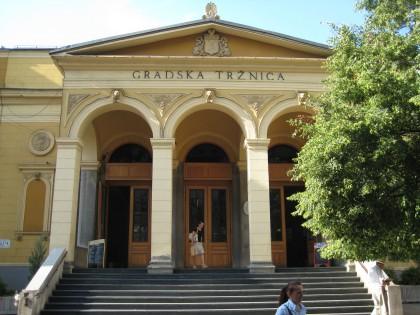 Gradska traznica (city market) in Sarajevo
