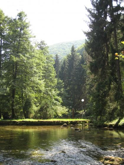 A spring in Vrelo Bosna