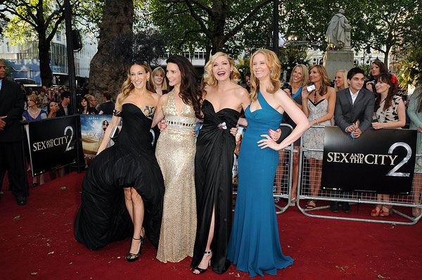 Sarah Jessica Parker, Kristin Davis, Kim Cattrall und Cynthia Nixon (Photo: Solarpix / PR Photos)