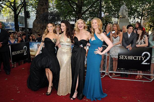 Sarah Jessica Parker, Kristin Davis, Kim Cattrall und Cynthia Nixon (Photo: Solarpix / PR Photos)