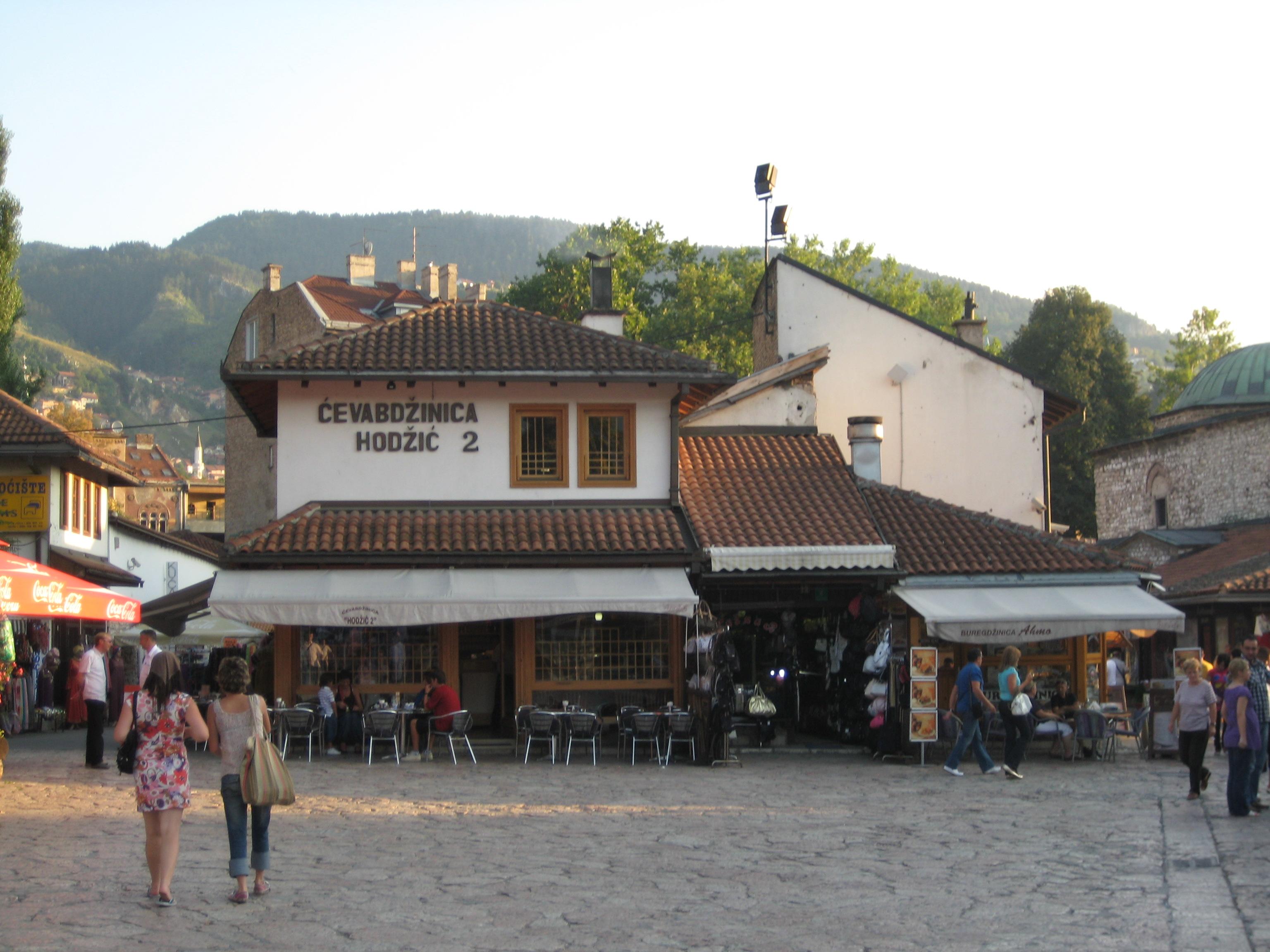 Chevabdzinica in Sarajevo