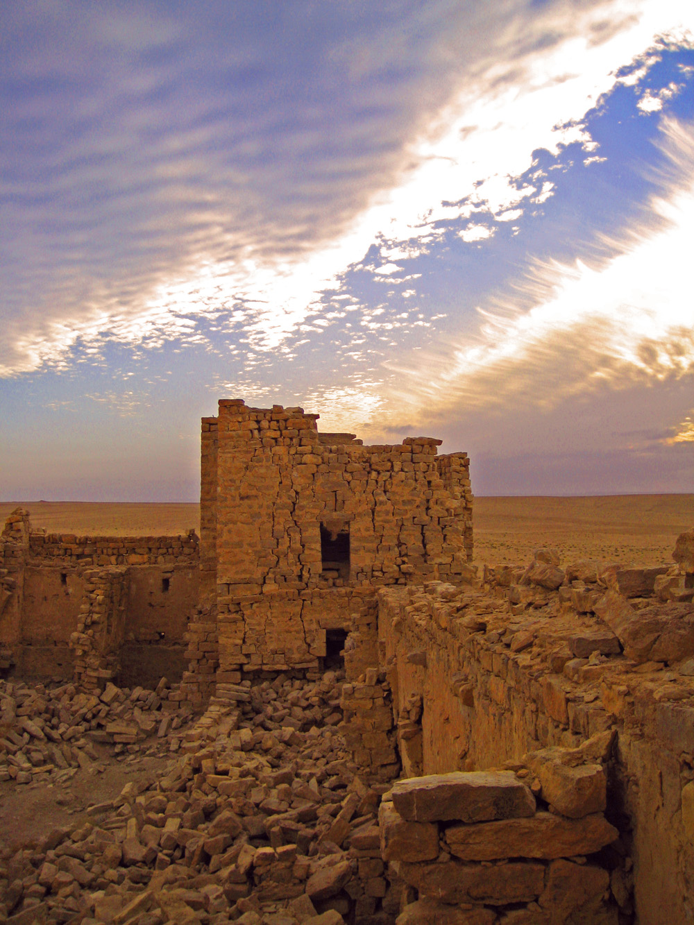 Qasr Bashir desert castle